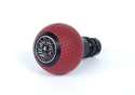 Billede af BFI Heavy Weight Shift Knob SCHWARZ - Magma Red Air Leather (DSG & Automatic)
